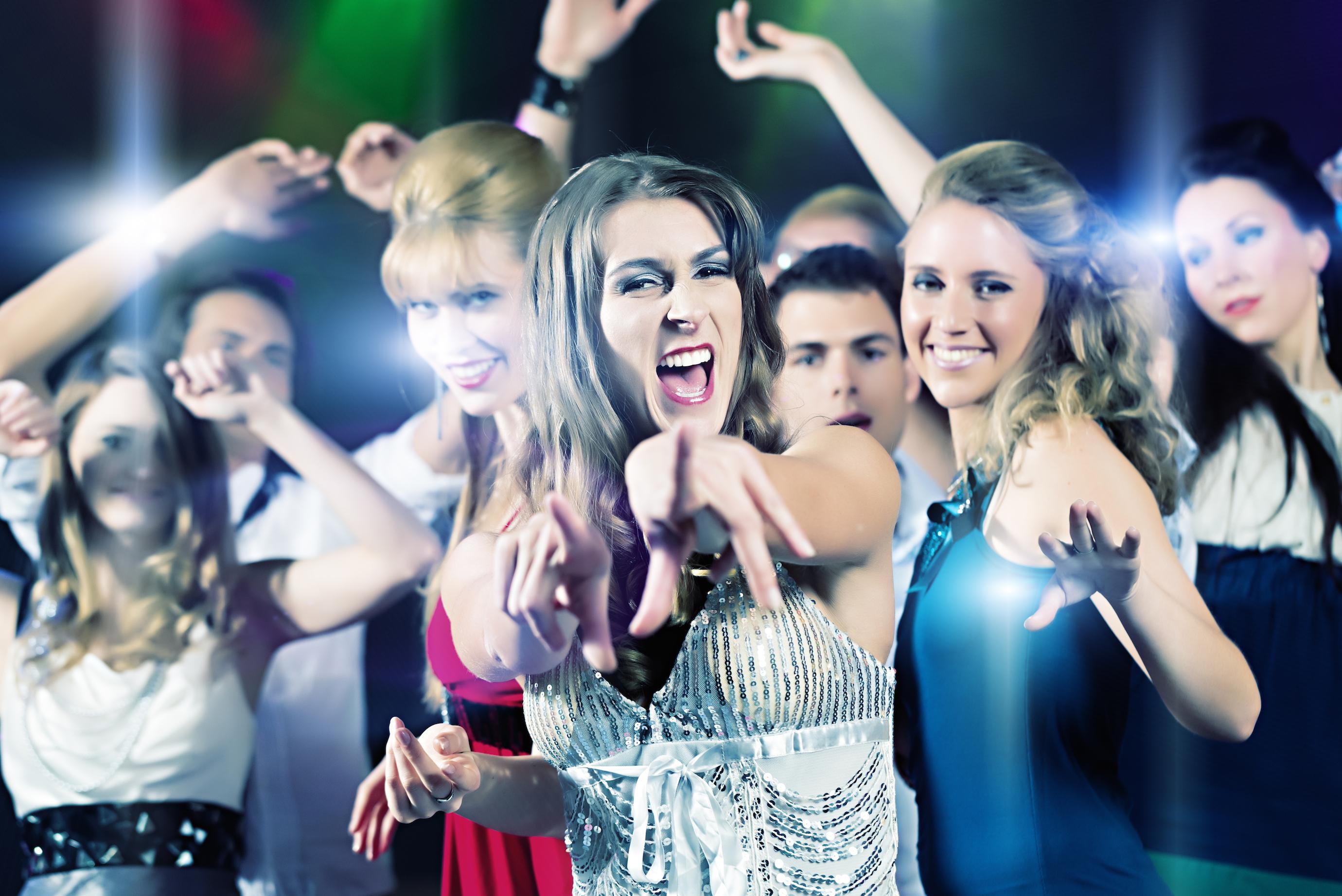 Фото жен на дискотеке 16 фотография