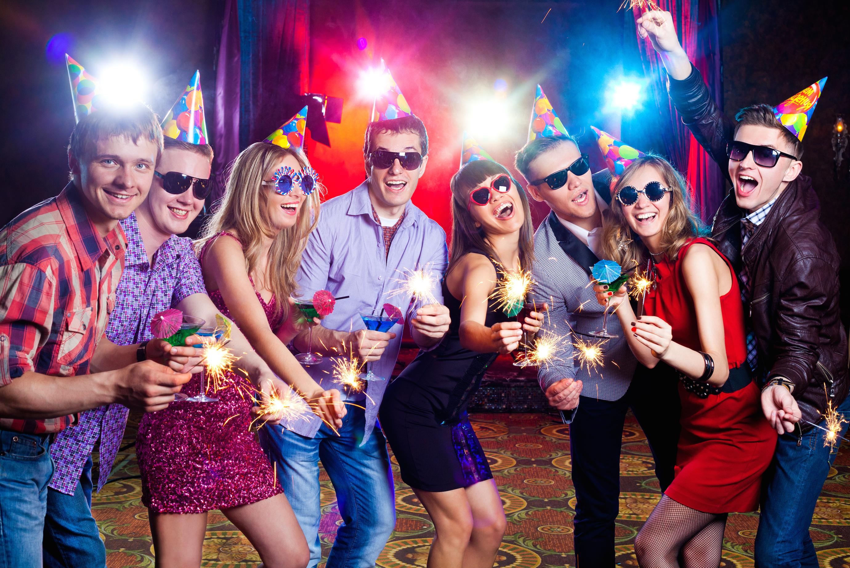 Темы для вечеринки в клубе 25 фотография