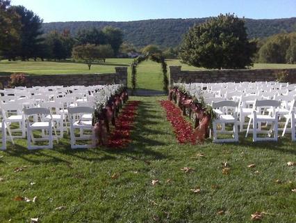 Vint hill winery wedding