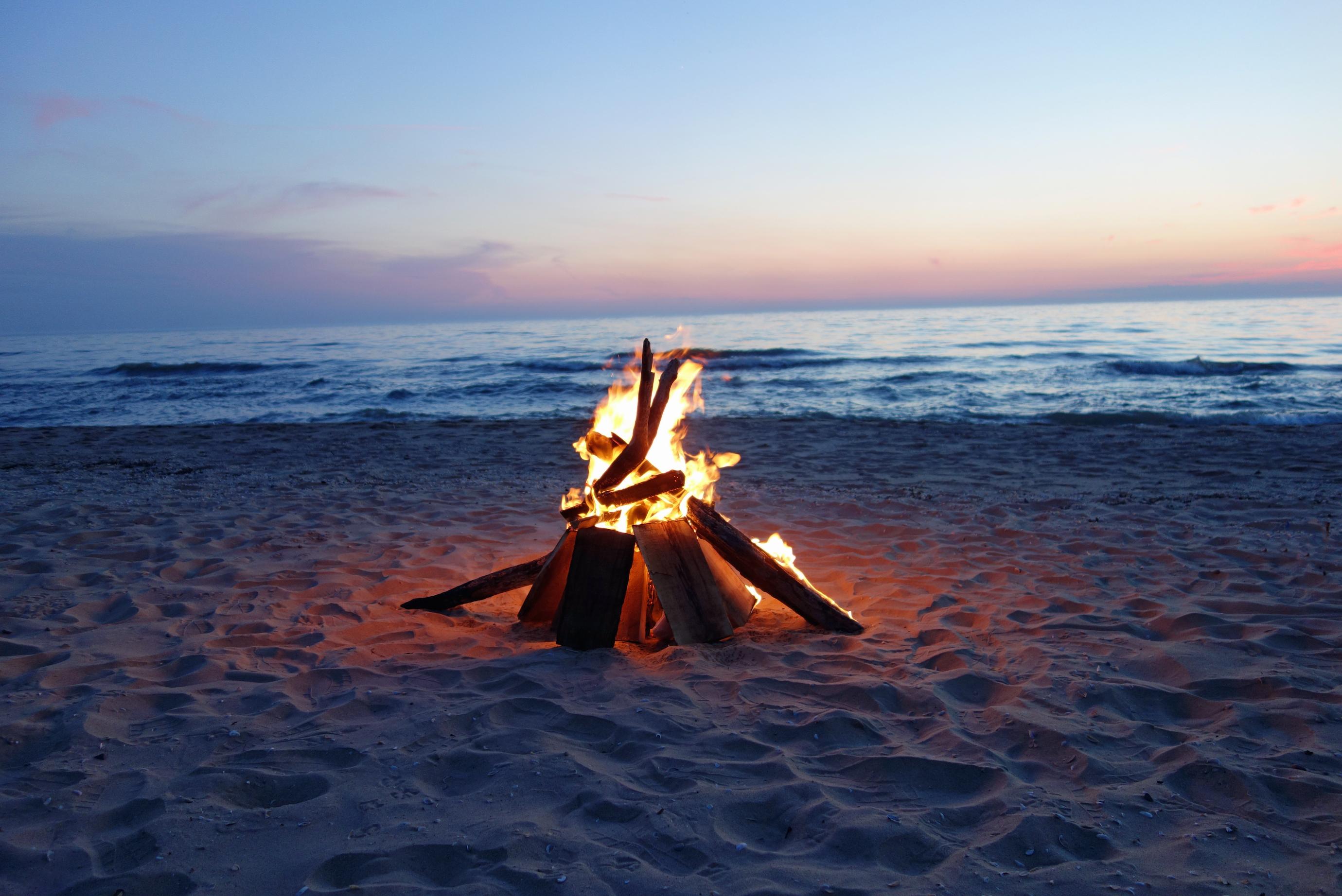 Фото ночью на пляже 12 фотография