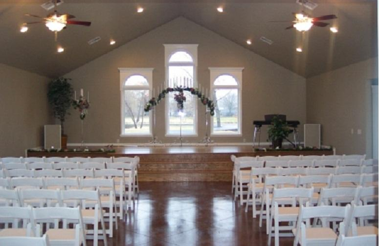 space at Arrow Springs Wedding & Event Center