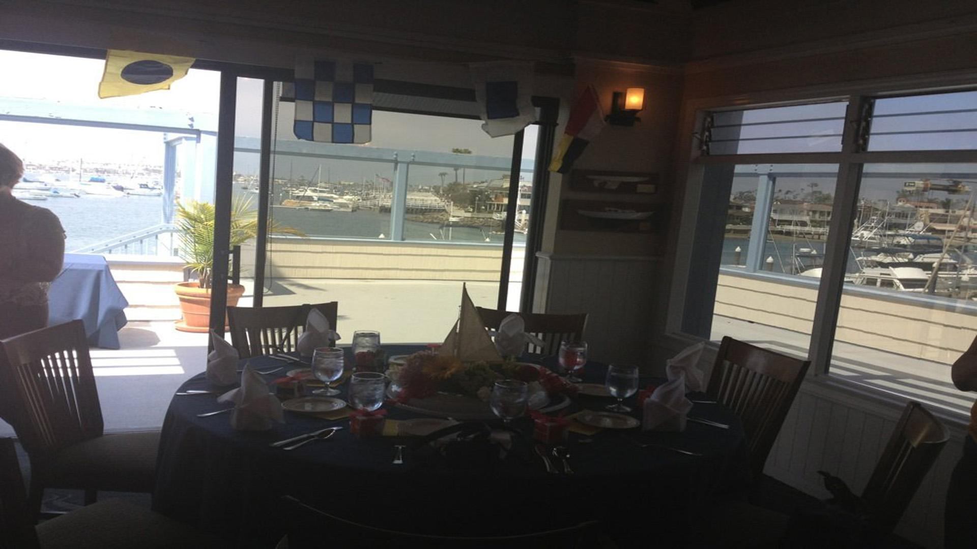 space at Balboa Yacht Club