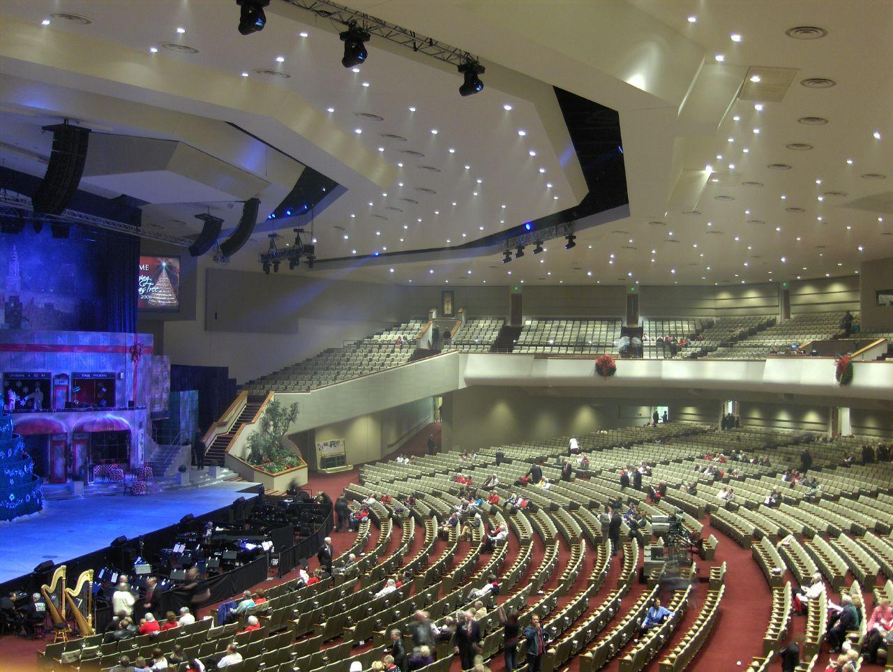 space at Bellevue Baptist Church