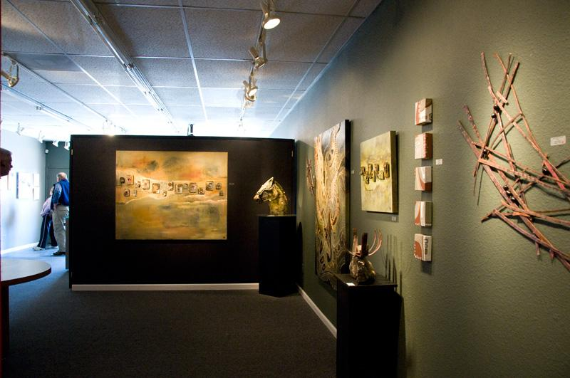 space at Blue Wing Art Gallery