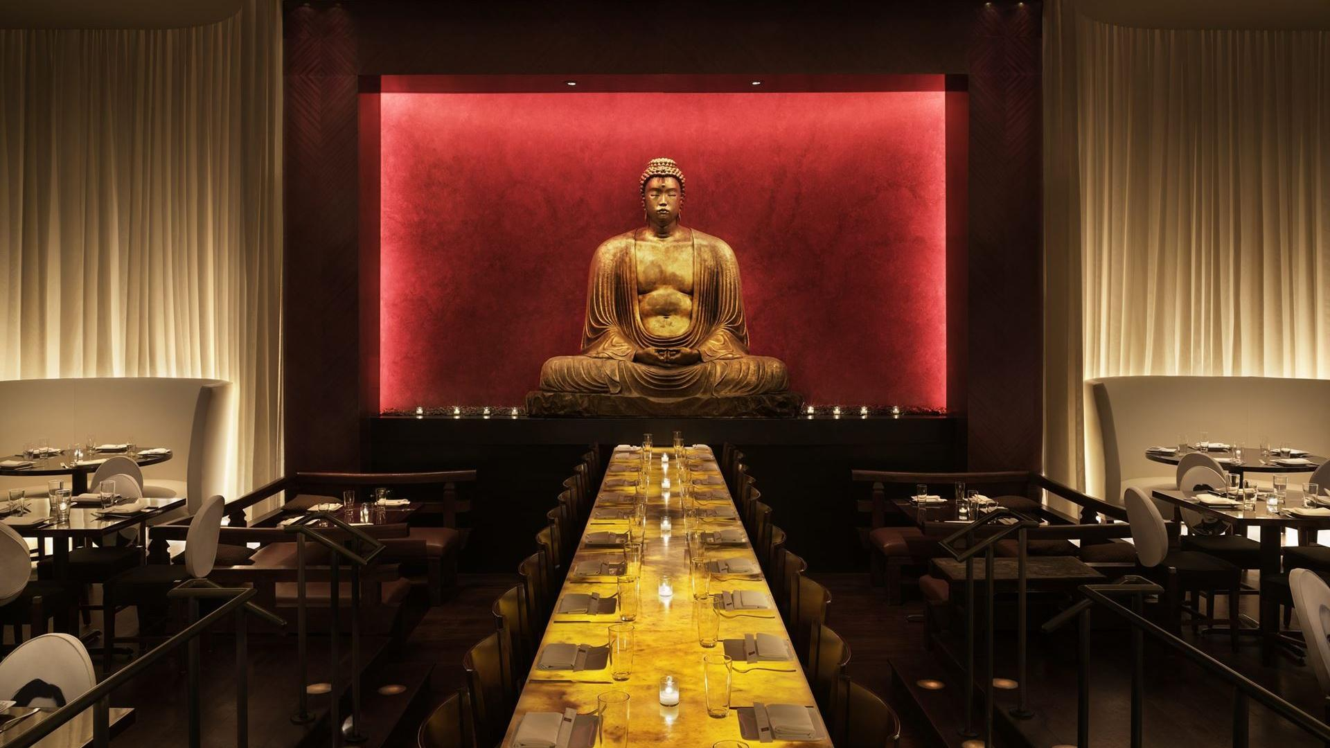 space at Buddakan