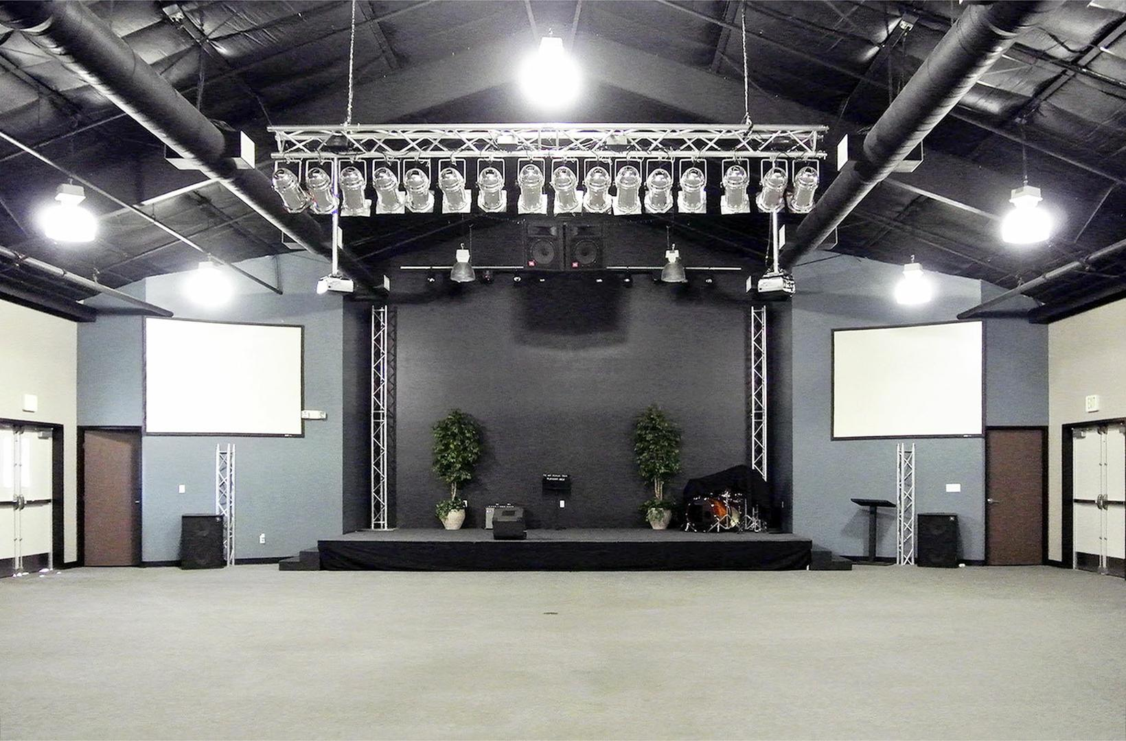 space at California Education and Performing Art - Auditorium