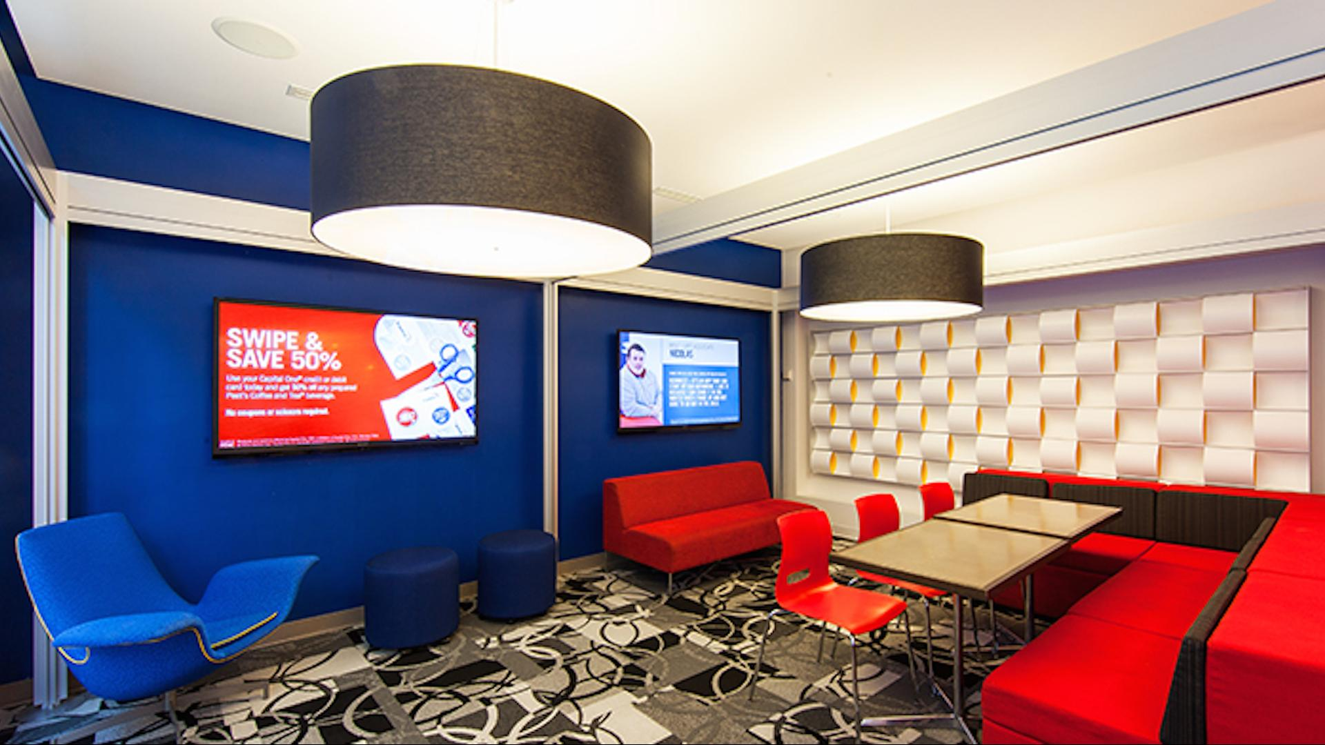 space at Capital One Café