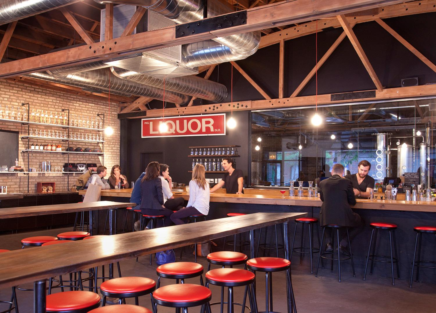 space at Chicago Distilling Company