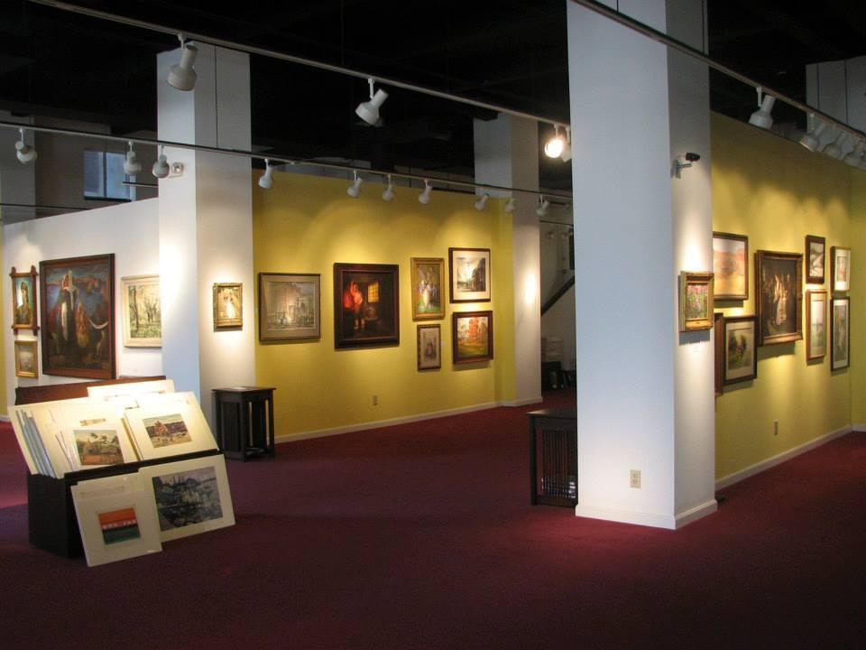 space at Cincinnati Art Galleries