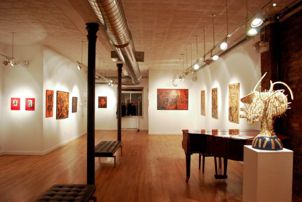 space at Clover's Fine Art Gallery