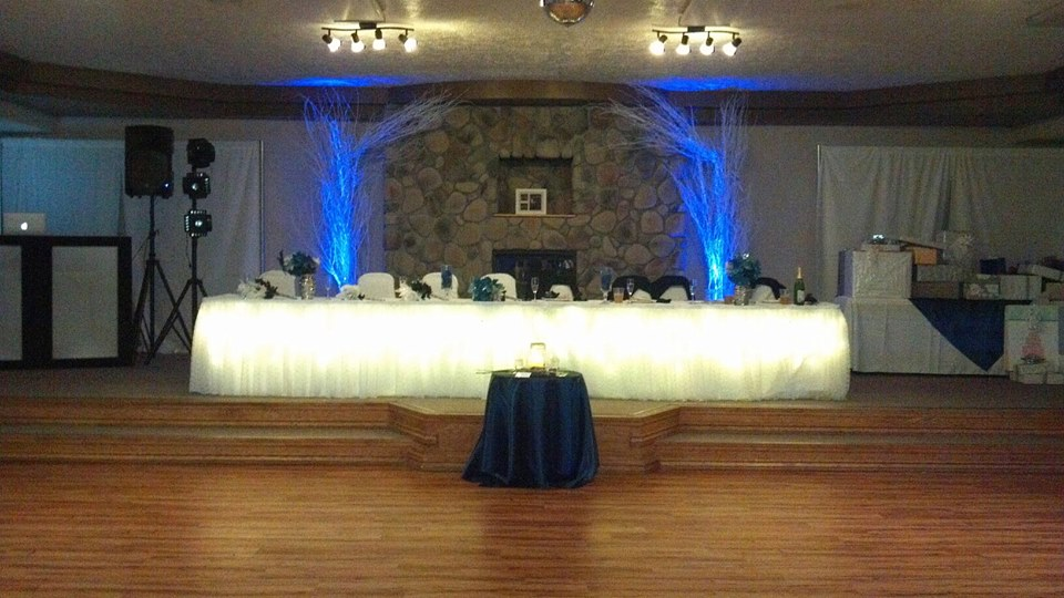 space at Country Creek Reception Hall