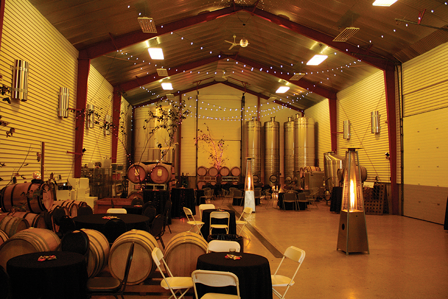 space at Domaine Meriwether Winery
