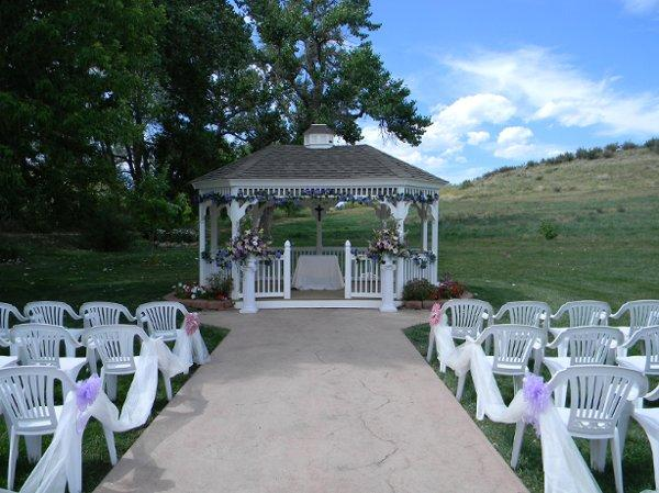space at Ellis Ranch Wedding Park