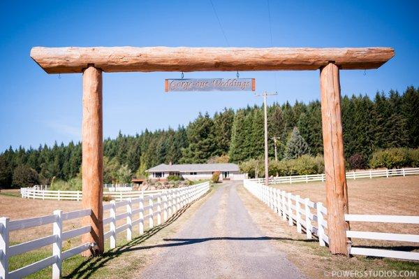 space at Gorge-ous Wedding at Wind Mountain Ranch