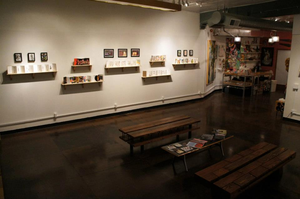 space at Hellion Gallery