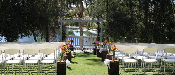 space at Honker Bay Ranch Wedding Venue