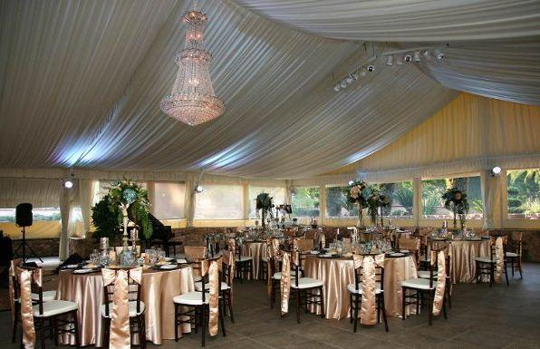 space at Los Willows Wedding Estate