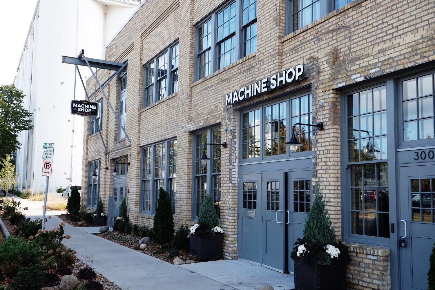 Machine Shop Corporate Events Wedding Locations Event Spaces And