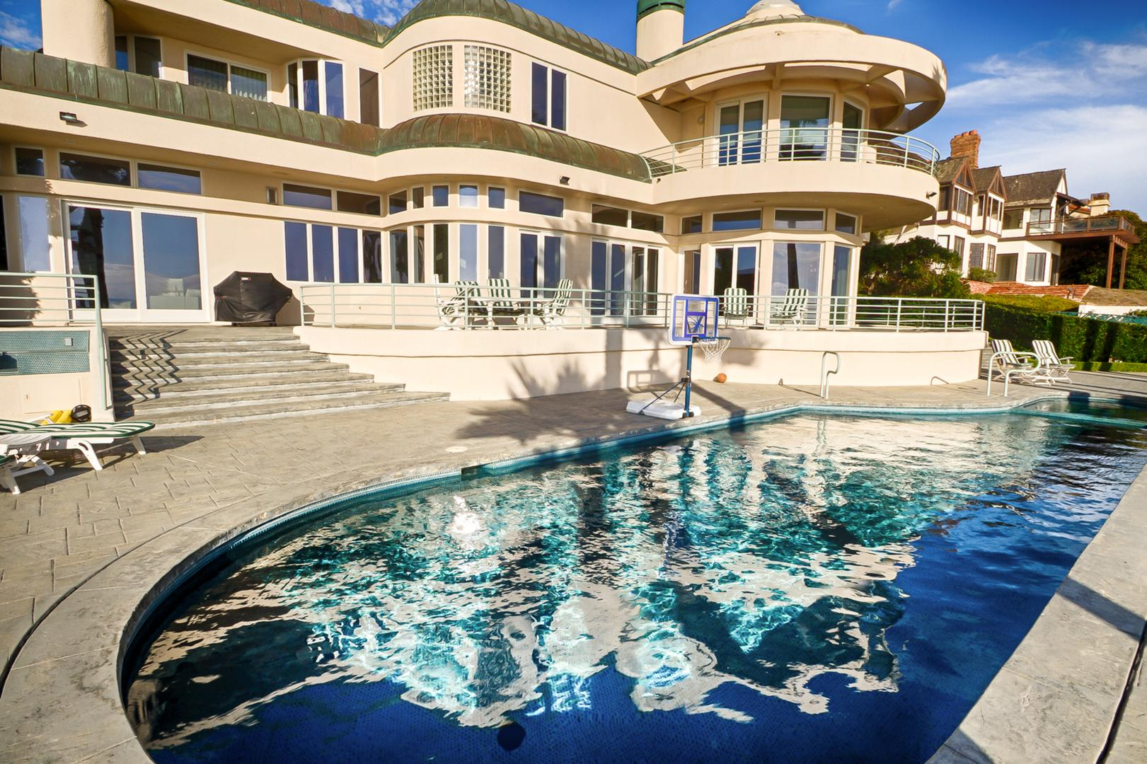 space at Malibu Spectacular Ocean View Mansion