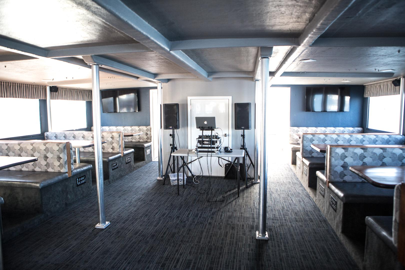 space at Newport Landing Cruises