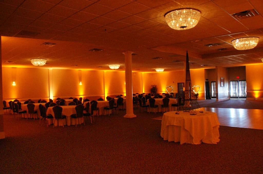 space at Paris Caterers - South Jersey Banquet Hall and Wedding Venue