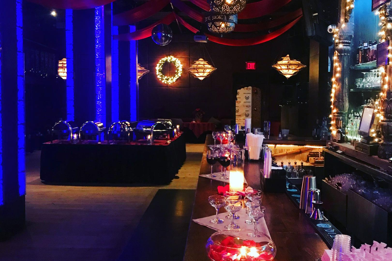 space at Taj Lounge & Event Space