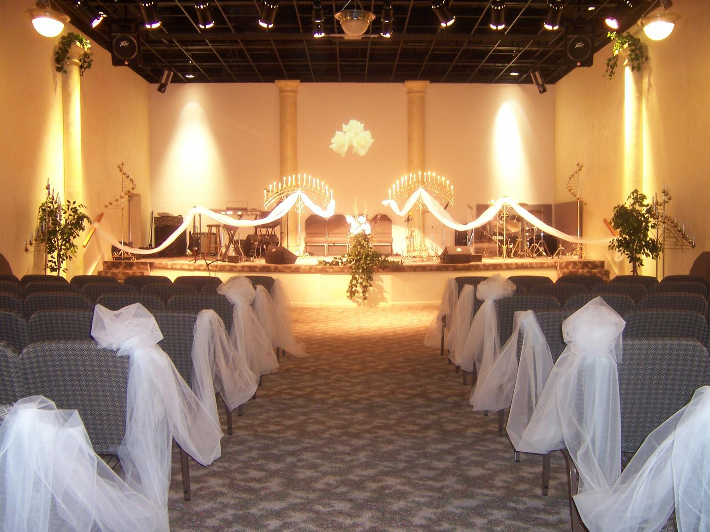 space at The Rock Weddings