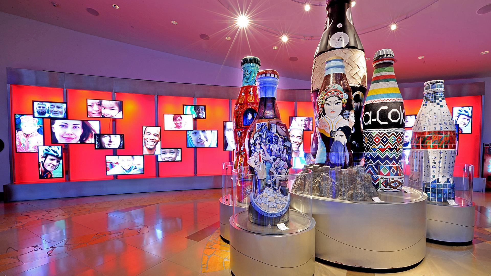 space at The World of Coca Cola