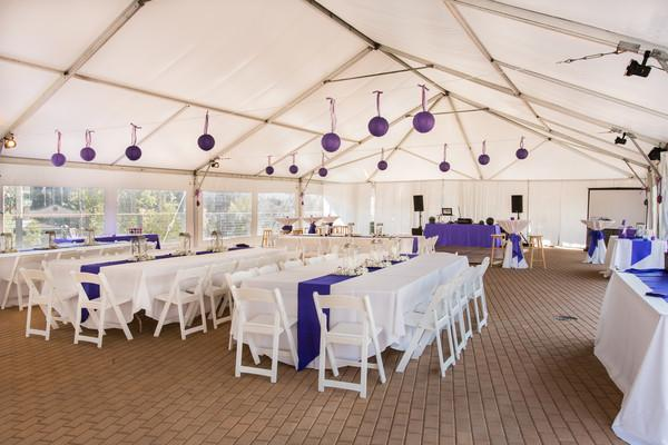 space at Torian Plum Outdoor Event Tent