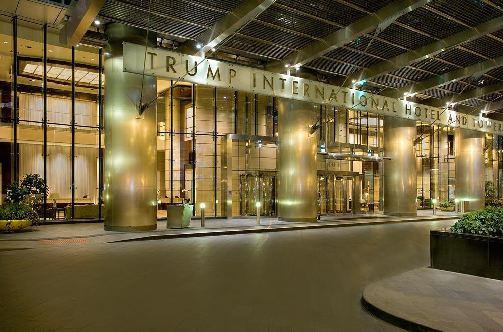 space at Trump Hotel Chicago