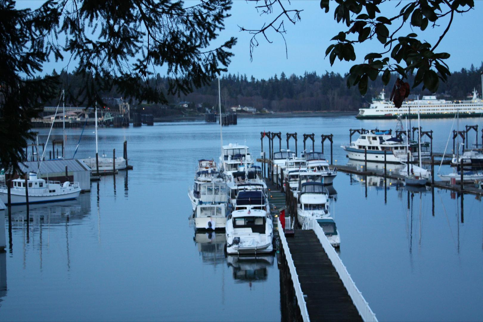 space at Tyee Yacht Club