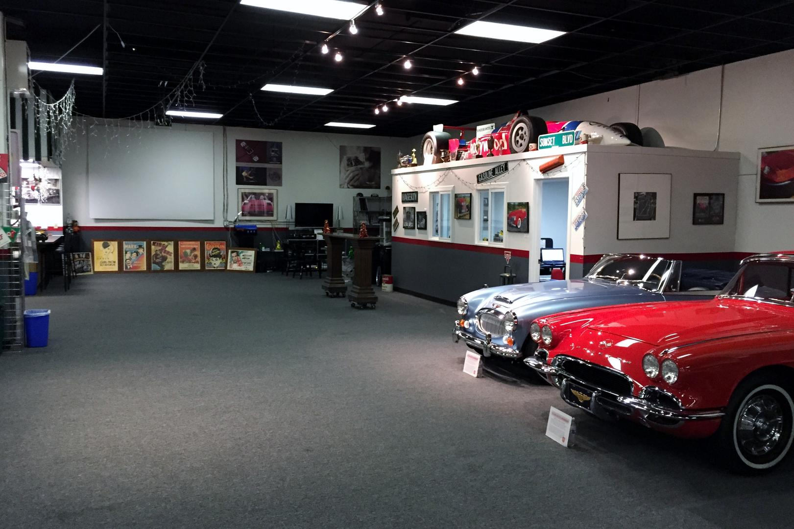 Rent Wild About Cars Garage Corporate Events Wedding Locations
