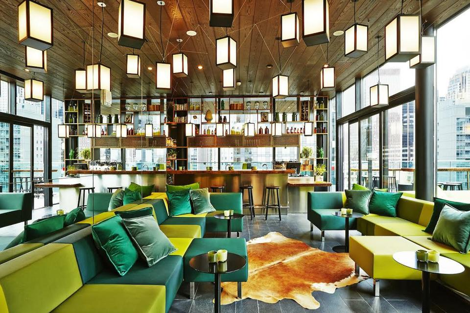 cloudbar at citizenM Hotel NYC